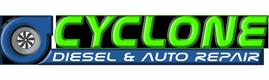 Cyclone Diesel and Auto Repair Logo